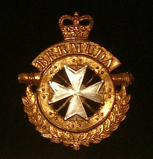 Royal Bermuda Regiment - Image: Bermuda Regiment badge