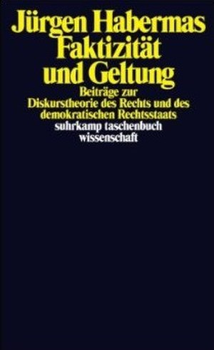 Between Facts and Norms - The German edition