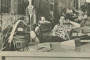 Vortex Comics - Vortex president Bill Marks in a 1986 promo photo.