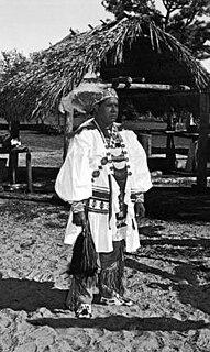Billy Osceola Seminole leader in Florida, USA