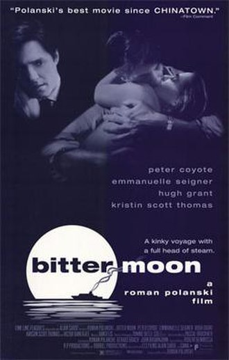 Bitter Moon - Theatrical release poster
