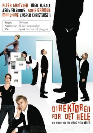 The Boss of It All - Danish theatrical release poster