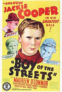 <i>Boy of the Streets</i> 1937 American drama film directed by William Nigh