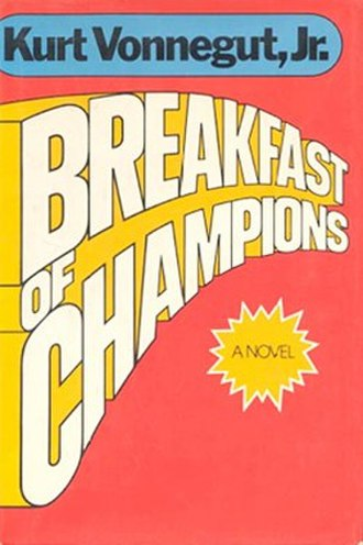 Breakfast of Champions - Cover of first edition 1973