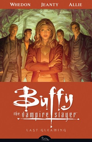 Last Gleaming - Cover of Buffy the Vampire Slayer Season Eight: Last Gleaming trade paperback collected edition Art by Jo Chen