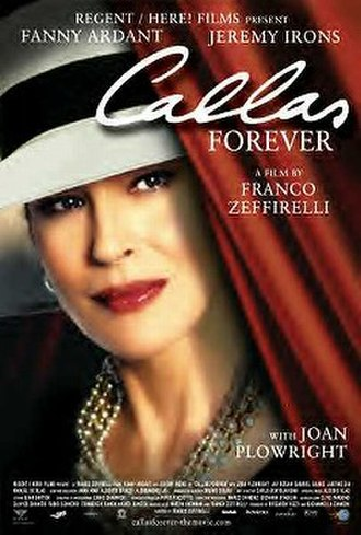 Callas Forever - Poster for the US release