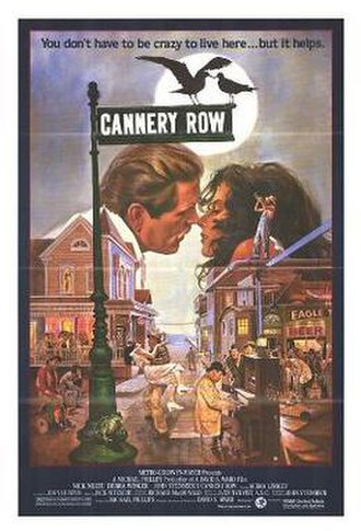 Cannery Row (film) - Theatrical release poster