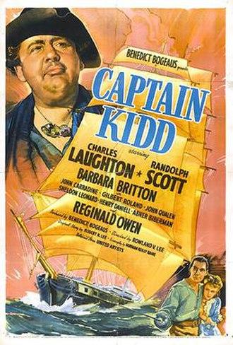 Captain Kidd (film) - Movie poster