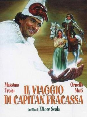 Captain Fracassa's Journey - Film poster