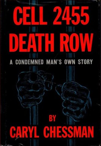 Cell 2455 Death Row - First edition (publ. Prentice-Hall)