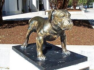 History of The Citadel, The Military College of South Carolina - The Citadel bulldog mascot