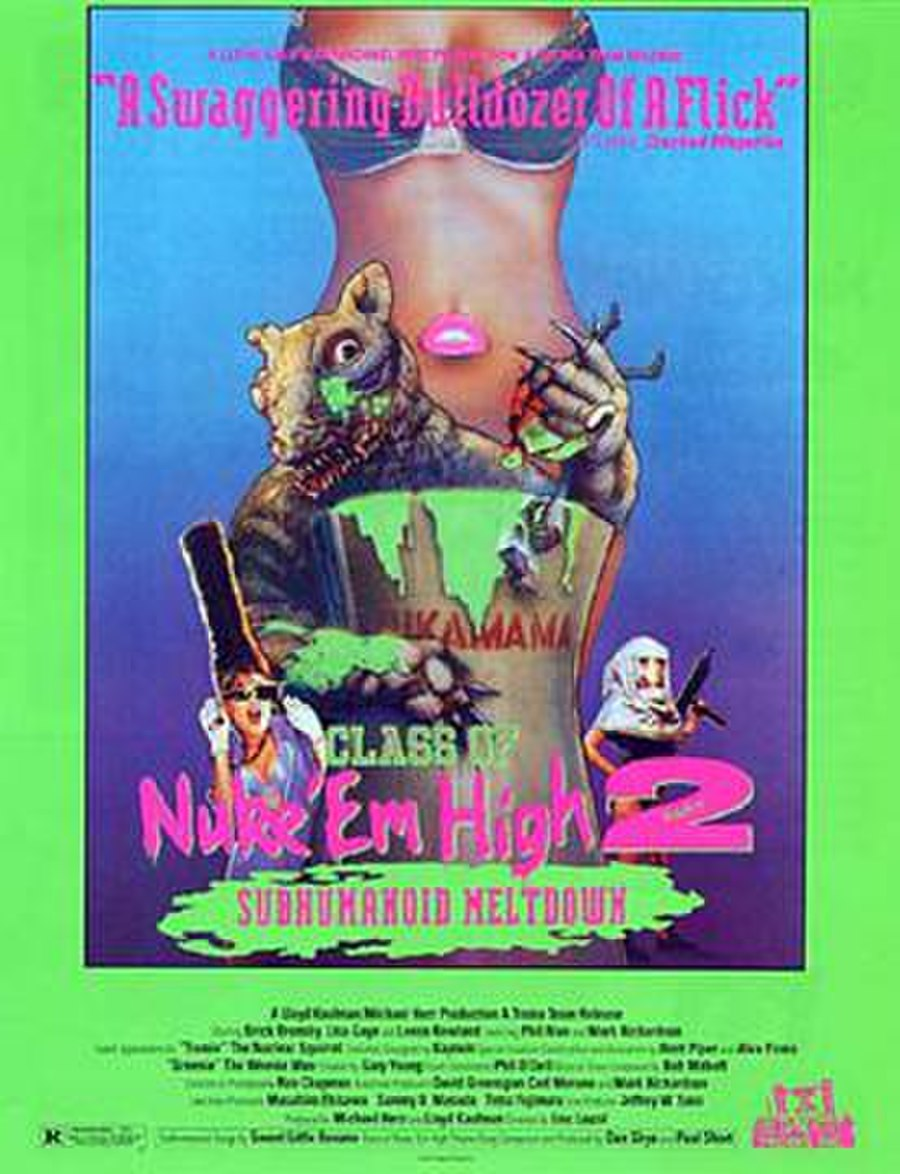 The Class of Nuke 'Em High Part 2: Subhumanoid Meltdown