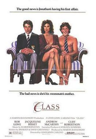 Class (film) - Theatrical release poster