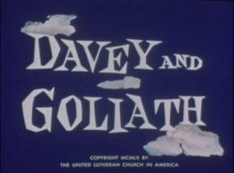 Davey and Goliath - Title card