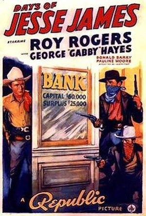 Days of Jesse James - Image: Days of Jesse James Film Poster
