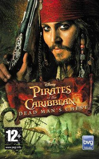 Pirates of the Caribbean: Dead Man's Chest (video game) - Image: Dead Mans Chest