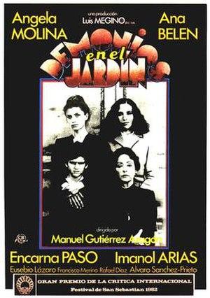 Demons in the Garden - Spanish film poster