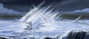Superman Returns - The Fortress of Solitude as depicted in the film.