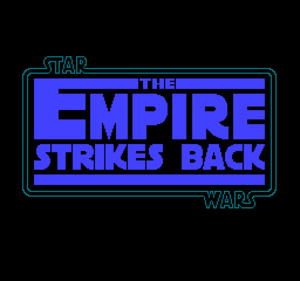 Star Wars: The Empire Strikes Back (1992 video game) - Title screen