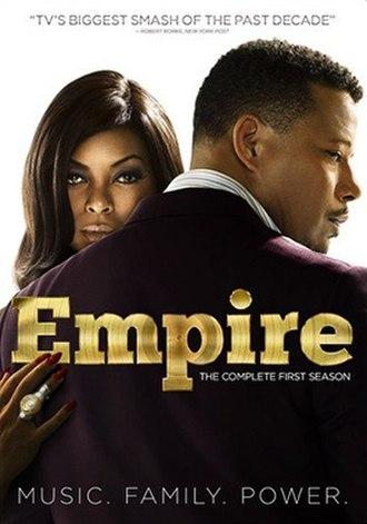 Empire (season 1) - DVD cover