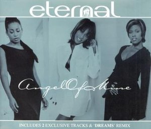 Angel of Mine - Image: Eternal Angel Of Mine (CD 1)