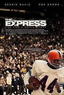 <i>The Express: The Ernie Davis Story</i> 2008 American football film