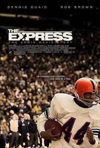 The Express - Theatrical release poster