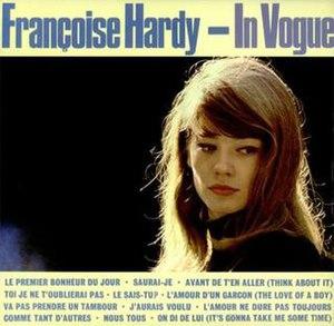 Françoise Hardy (1963 album) - Image: F. Hardy, In Vogue, Pye UK 64