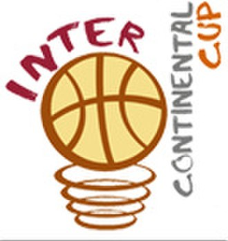 FIBA Intercontinental Cup - Part of the official logo with the current competition name.