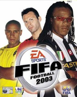 <i>FIFA Football 2003</i> 2002 association football video game