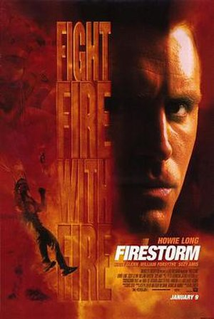 Firestorm (1998 film) - Theatrical release poster
