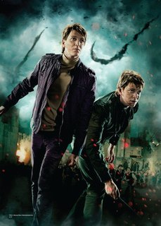 Fred and George Weasley Fictional characters from Harry Potter