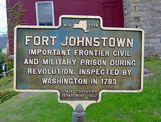 Johnstown (city), New York - Fort Johnstown, New York State Historic Site