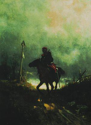Battle of Staszów - Polish partisan 1863