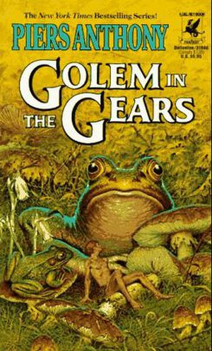 Golem in the Gears - Image: Golem in the Gears cover