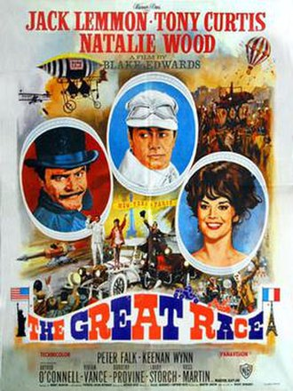 The Great Race - Theatrical release poster