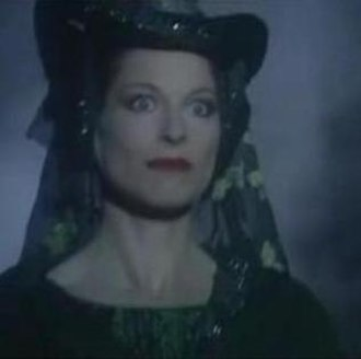 Lady of the Green Kirtle - The Lady of the Green Kirtle, as portrayed by Barbara Kellerman in the 1990 BBC miniseries