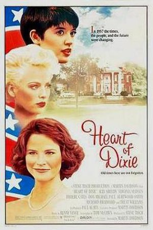 Heart of Dixie (film) - Theatrical release poster