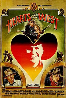 <i>Hearts of the West</i> 1975 film by Howard Zieff