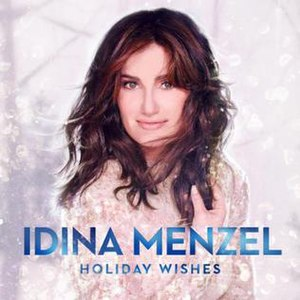 Holiday Wishes (Idina Menzel album) - Image: Holiday Wishes Album Cover