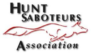 Hunt Saboteurs Association - The logo of the Hunt Saboteurs Association UK.
