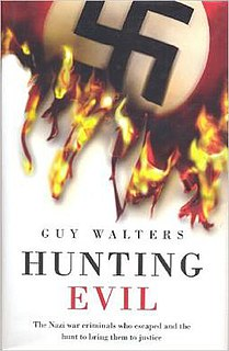 <i>Hunting Evil</i> book by Guy Walters