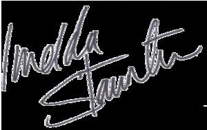 Imelda Staunton - Image: Imelda Staunton Signature