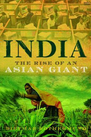 India: The Rise of an Asian Giant - Image: India The Rise of an Asian Giant book cover