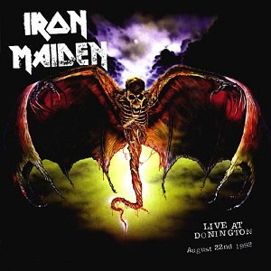 Live at Donington (Iron Maiden album) - Image: Ironmaidendoningtonr evised