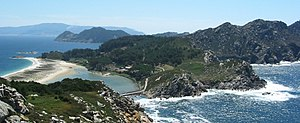 Cíes Islands - Looking South from Monte das Figueiras (Monteagudo Island)