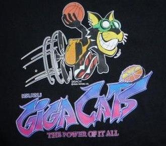 Yokohama Giga Spirits - Image: Isuzu Giga Cats logo