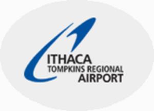 Ithaca Tompkins Regional Airport - Image: Ithaca Tompkins Regional Airport (logo)