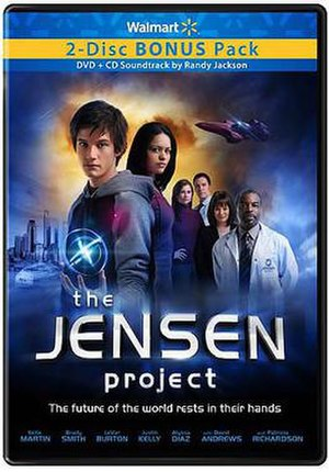 The Jensen Project - The Jensen Project DVD cover