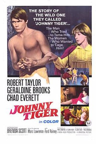 Johnny Tiger - Theatrical Film Poster
